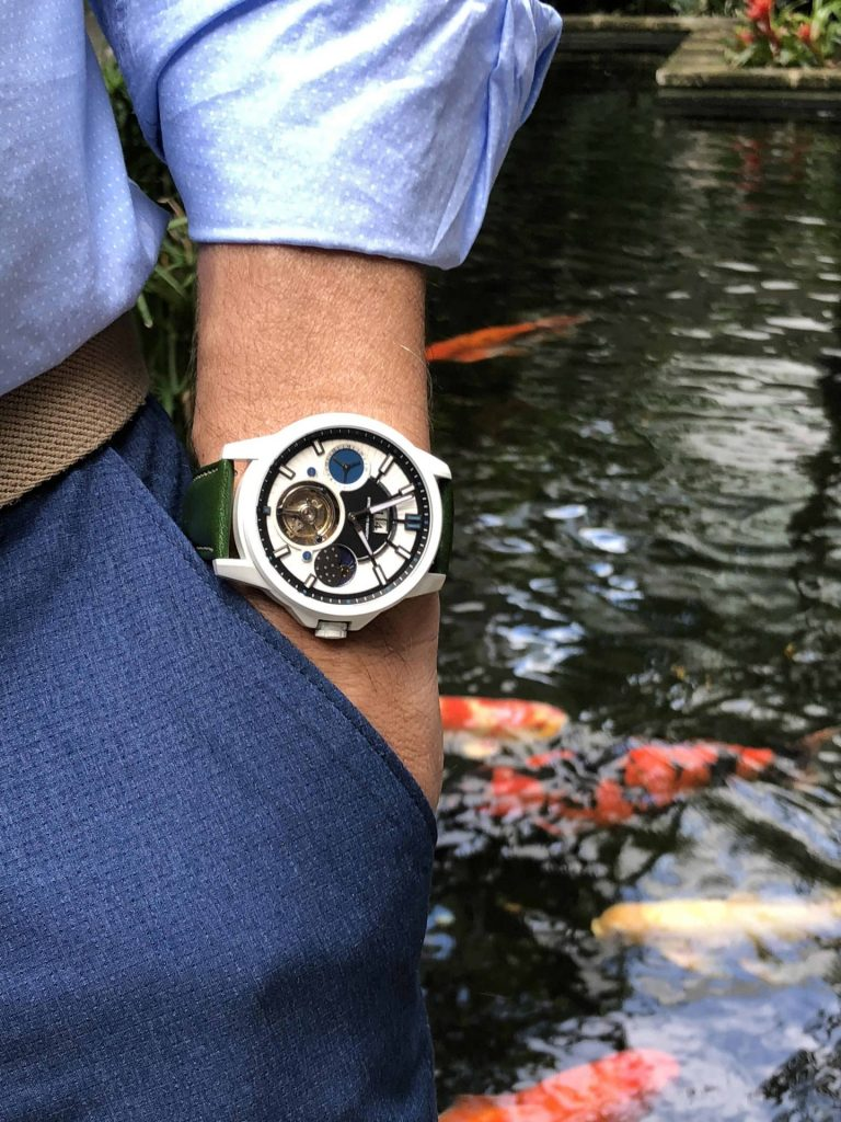 Strumenti Nautici Automatic Tourbillon Cerakote Titanium Watch